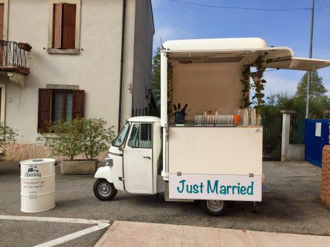 ape car per matrimoni